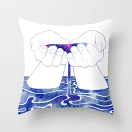 Thetis Throw Pillow