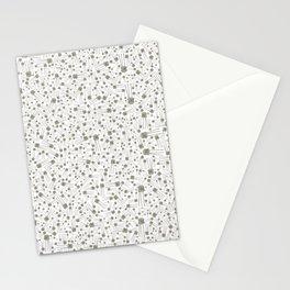 Metallic transistor,PATTERN Stationery Cards