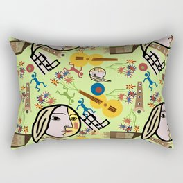 Ode to Picasso Rectangular Pillow