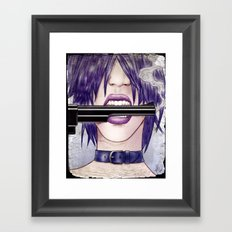 Gun Framed Art Print