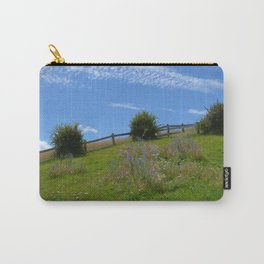 Wildflowers in the New Zealand countryside. Carry-All Pouch