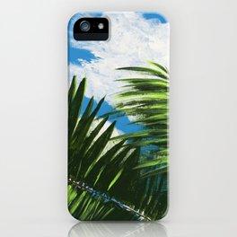 Calm Palms iPhone Case