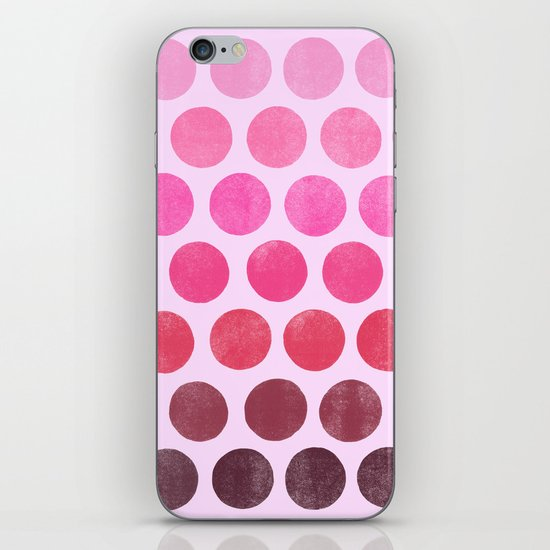 Color Play Pink iPhone & iPod Skin