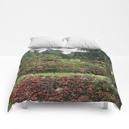 Stormy Garden Comforters