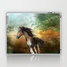 Beautiful brown horse Laptop & iPad Skin