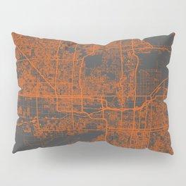 Phoenix map Pillow Sham