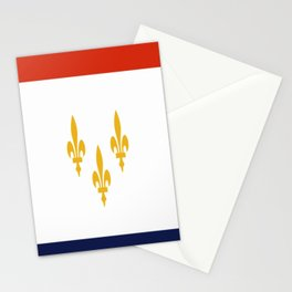 flag of new orleans,NOLA,Crescent City,Big Easy,Nawlins, jazz,Lousiana,french,cajun,treme Stationery Cards