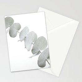 EUCALYPTUS WHITE 3 Stationery Cards
