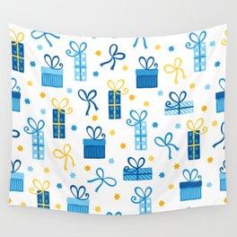 Happy Hanukkah Gifts Wall Tapestry