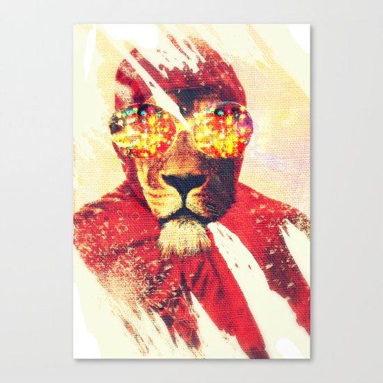 Lion Zion Canvas Print