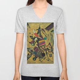 Wassily Kandinsky - Points Unisex V-Neck
