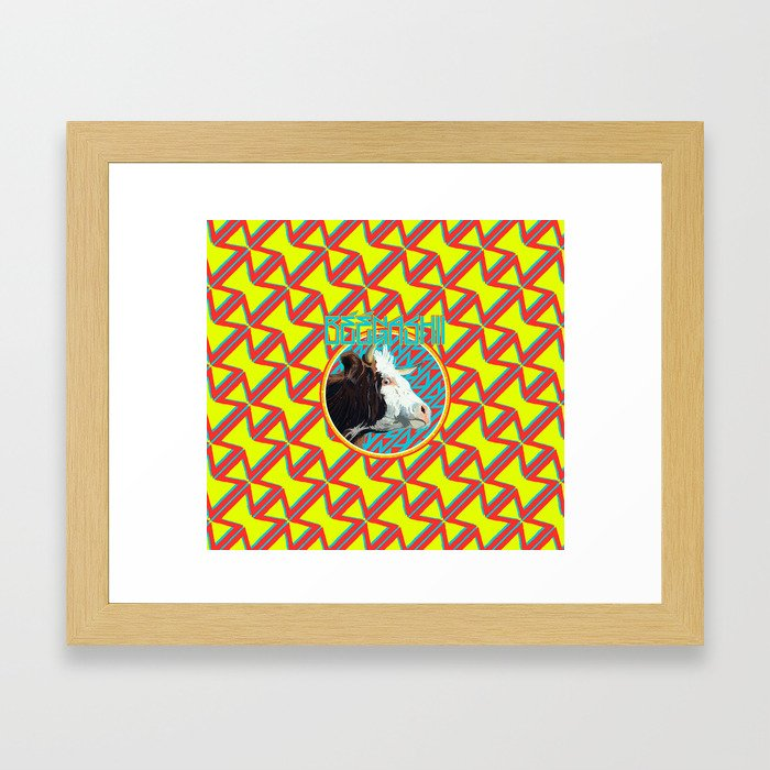 Beegashii Framed Art Print