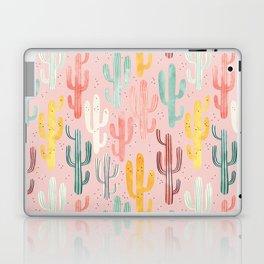 Long Multicolored Cacti Laptop & iPad Skin