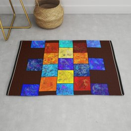 Ecleptios - colourful world Rug
