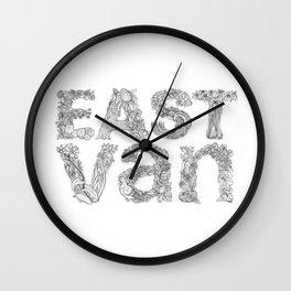 East Van Wall Clock