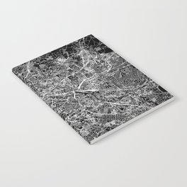 Berlin Black Map Notebook