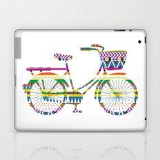 Bicycle with Tribal Pattern Laptop & iPad Skin