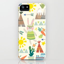 New Mexico Bunnies iPhone Case