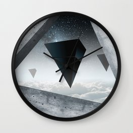 Incredible worlds Wall Clock