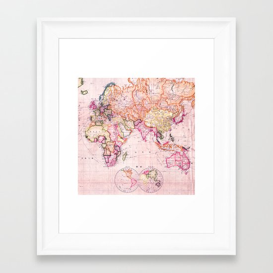 Vintage Map Pattern by mapmaker