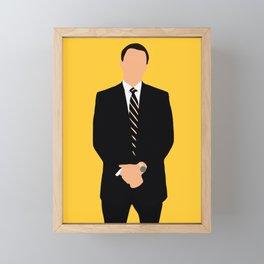 The Wolf of Wall Street movie Framed Mini Art Print