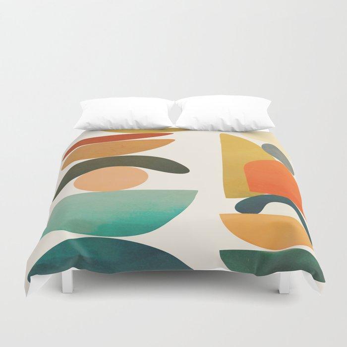 Modern Abstract Art 72 Duvet Cover