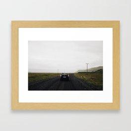 Dark Roads Framed Art Print