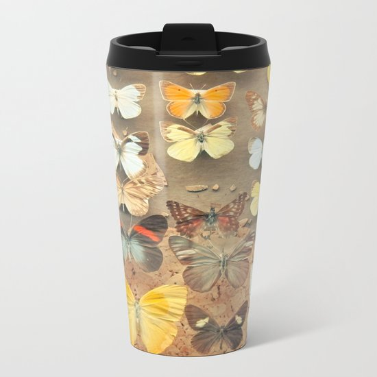 The Butterfly Collection I Metal Travel Mug