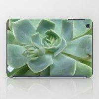 succulent iPad Cases featuring Succulent by Sara Valor