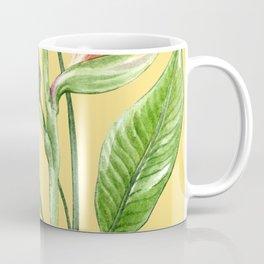 Bird of Paradise Yellow Coffee Mug