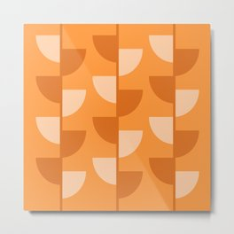 Orange Slices In The Summer - Fruit Series Metal Print