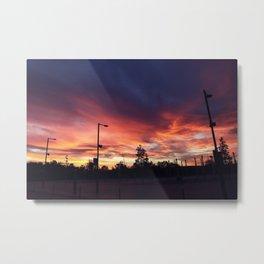 Wembley sunrise Metal Print