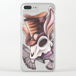 Steamed Bunny Clear iPhone Case