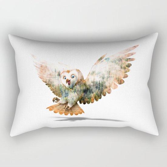 OWL NATURE Rectangular Pillow