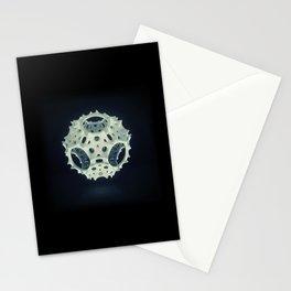 Icosahedron Bloom Stationery Cards