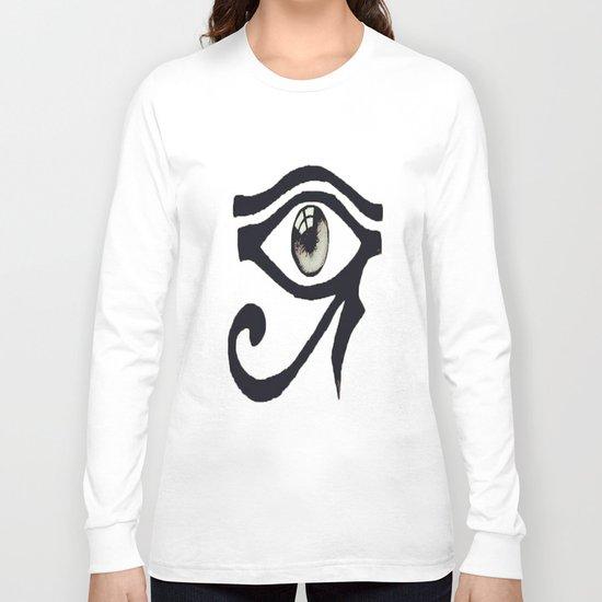 Chinese Alphabet Eye Long Sleeve T-shirt