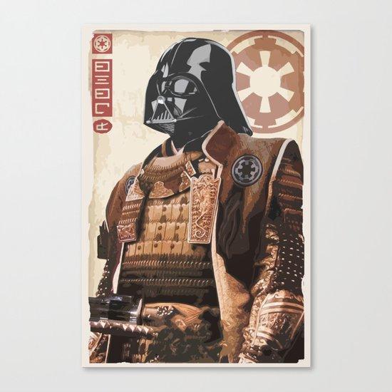 Star Wars - Samurai Vader Canvas Print