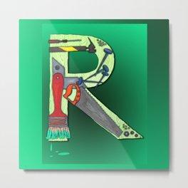 R Handyman Metal Print