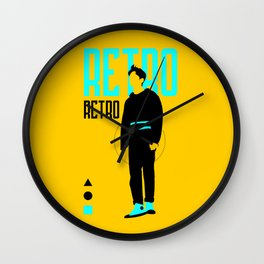 SHINee - Retro Wall Clock