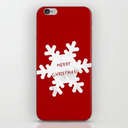 Merry Christmas iPhone Skin