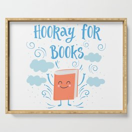 Hooray For Books Serving Tray