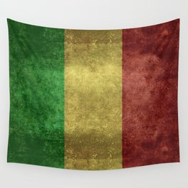 The National flag of the Republic of Mali Wall Tapestry