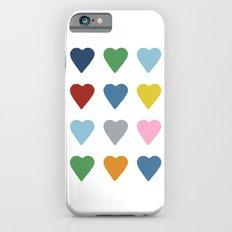 16 Hearts iPhone 6s Slim Case