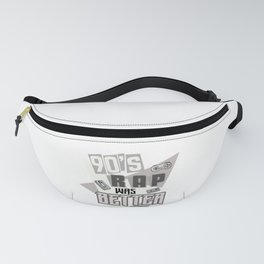 90s Rap Music graphic Retro Hip Hop Rapper design Fanny Pack