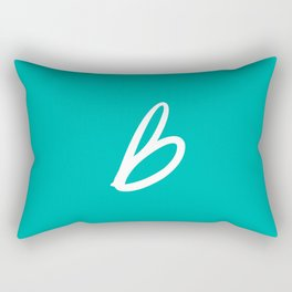 Recettes du Bonheur - Bleu Rectangular Pillow