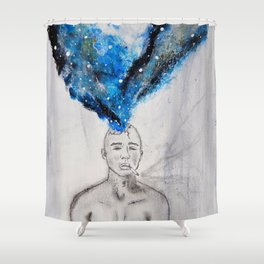 Lit Shower Curtain