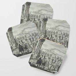 A.J. Defehrt - Cortège of Janus (1764) Coaster