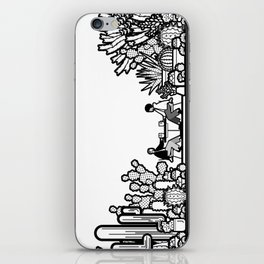 Chai and Cacti III iPhone Skin