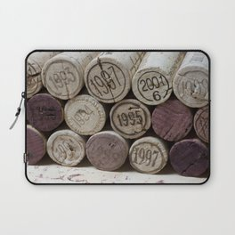 Vintage Wine Corks Laptop Sleeve