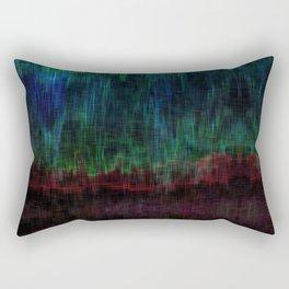 Distorted Ikat Rectangular Pillow